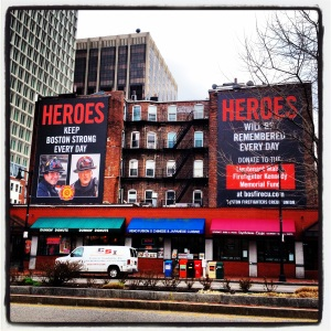 Boston's Hero's. Donate Here.