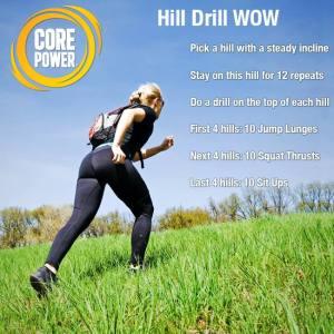 CorePower Hill Workout