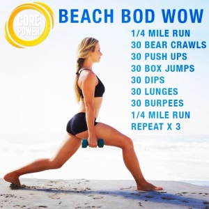 Beach Body Work Out