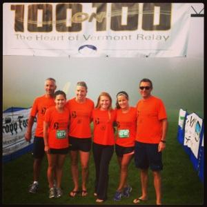 Vermont 100 on 100 2013