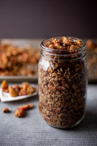 Food Mouth Apple Maple Granola.